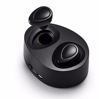 Mini Twins True Wireless Bluetooth Earphones CSR 4 1 Bluetooth Handsfree Headset With 2000mAh Charging Box