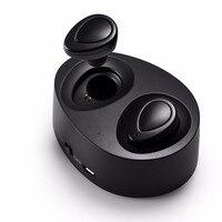Mini Twins True Wireless Bluetooth Earphones CSR 4 1 Bluetooth Handsfree Headset With 2000mAh Charging Box