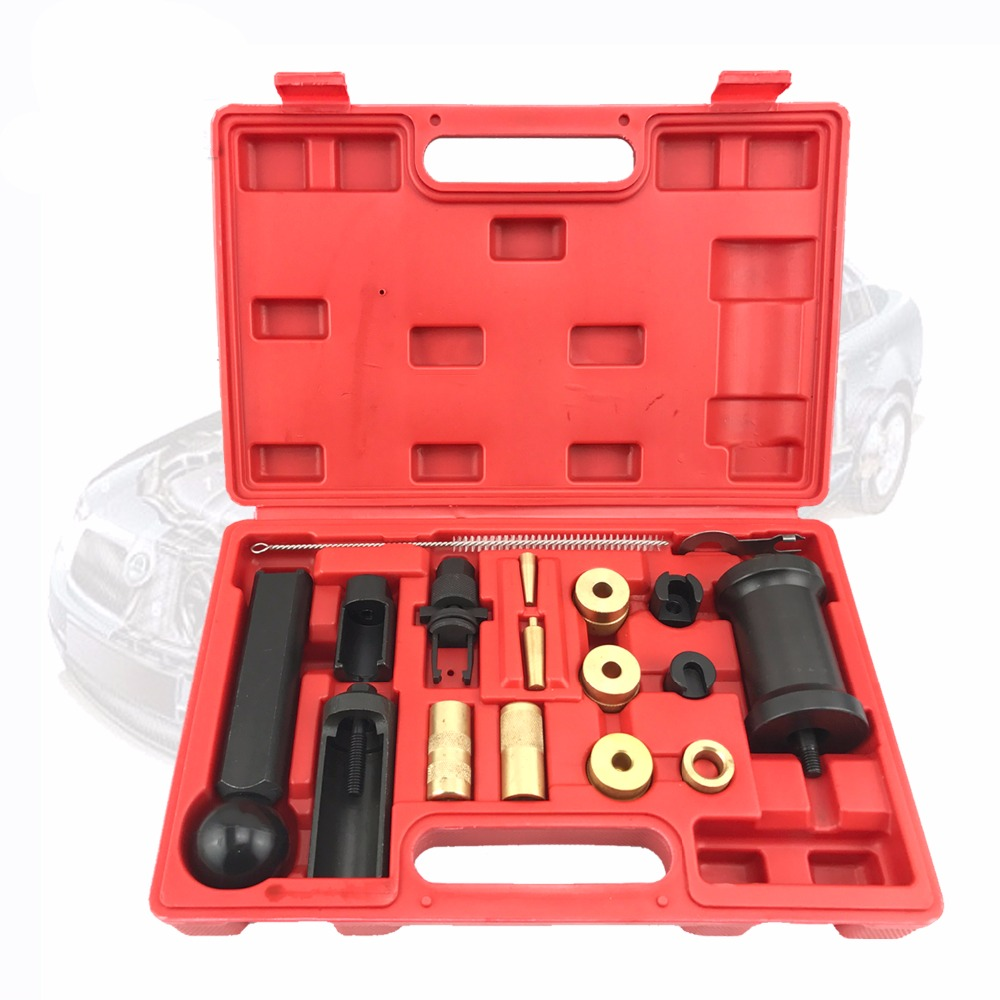18PCS FSI Fuel Injector Service Tool Puller Set Injector Remover And Installer Tool Set For VAG Audi VW FSI Petrol