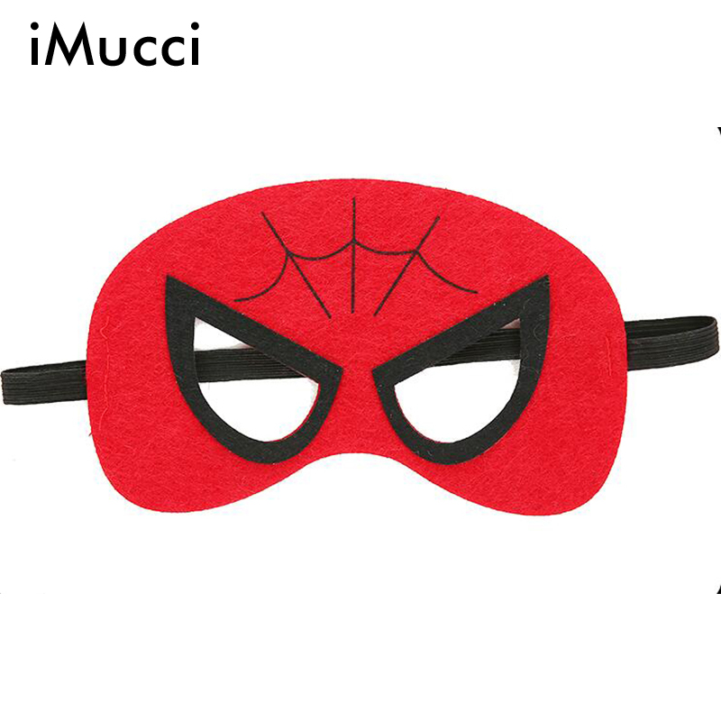 iMucci 50PC Can Mixed Cosplay <font><b>Mask</b></font> Halloween <font><b>Masks</b></font> Christmas Party Birthday Props <font><b>Superman</b></font> <font><b>Batman</b></font> <font><b>Spiderman</b></font> <font><b>Hulk</b></font> Thor IronMan