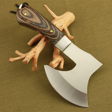 KONGFU Chopping Meat Bones Survival Sharp Axe Camping Fire Hatchet Outdoor Tools Hunting Knife Tomahawk Utility