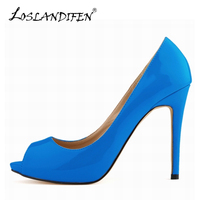 Summer Sexy Womens Open Toe High Heels Sandals Peep Toe Pumps Wedding Shoes US 4 11