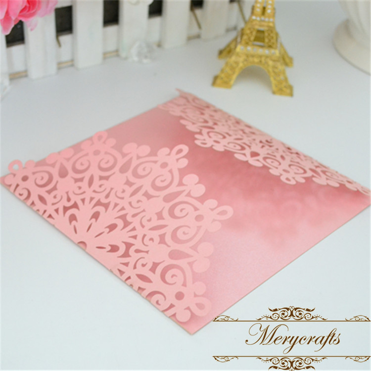 Wedding Invitations Paper Crafts New Design From Mery Laser Cut