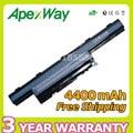 Apexway 6 células 4400 mah bateria do portátil para packard bell easynote tk37 tk81 tk83 tk85 tk87 txs66hr ts11hr ts11sb ts13hr ts13sb