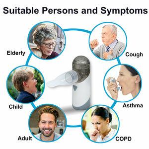 Image 2 - Antaretech nébuliseur Portable PA20, Rechargeable, avec indicateur de batterie, étanche, pour les adultes et les enfants, asthme, COPD
