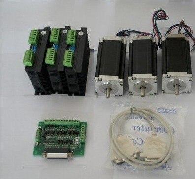 Nema 23 once-in 3 Assi CNC Driver Del Motore Passo-passo con 4.2A, 50VDC, 128 Microstep Mulino