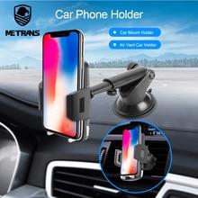 Metrans Car Phone Holder For iPhone Samsung Windshield Gravity Sucker Phone Stand Holder For Your Mobile Phone telefon tutucu