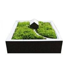 Nicole Silicone Mold for Concrete Flowerpot Square Planter Molds DIY Garden Bonsai Pot Cement Mould