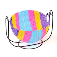 Colorful Woven Storage Baskets Kitchen Vegetables And Fruits Storage Basket Creative Collection Of Cradle Debris Fruit