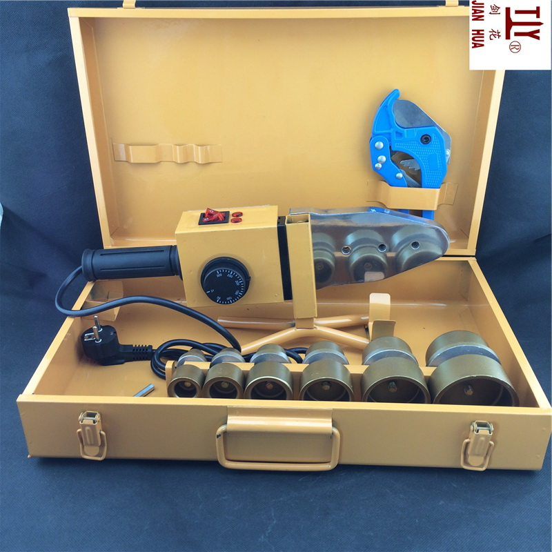 Free shipping Temperature controled, PPR Welding Machine, AC 220V 1500W DN 20-63mm plastic pipe welding machine free shipping 24v dc mig welding wire feeder motor single drive 1pcs