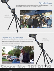 Benro MoveUp4 Travel Video Jib crane Professional Auminium Portable Pro DSLR Video Camera Crane Jib Arm Max Load To 4kg A04J18