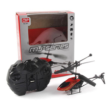 RC Helicopter 2 CH Channel Mini Drone With Gyro Crash Resistant Toys For Boy Kids Gift