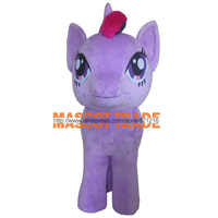 cosplay costumes Professional Legs Stand Up Pony Mascot Costume Outfits Cartoon Character Fancy Dress Mascots Costumes