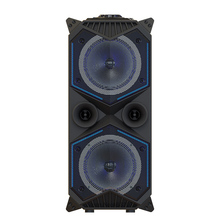 Outdoor speaker Bluetooth Speaker Wireless Portable Hi-Fi Speaker Super Bass with BT/TF/AUX/USB/MIC LED Light Party Speakers