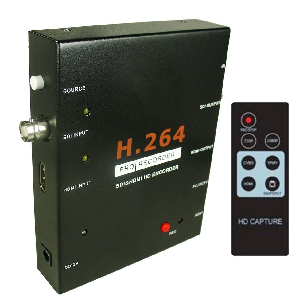 EZcap286 SDI HDMI Encoder H 264 PRO Card Recorder 1080P VIDEO GAME Capture Box Video Recording