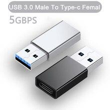 Cable USB tipo c hembra a macho, adaptador OTG, convertidor hembra a tipo C, adaptador de datos OTG para cargador de portátil