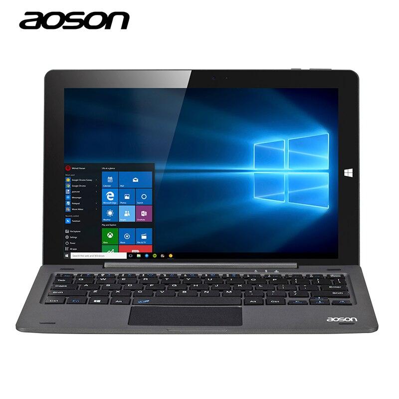 10 1 inch Portable Computer Windows 10 Tablet PC Aoson R105 Intel Cherry Trail Z8300 1280