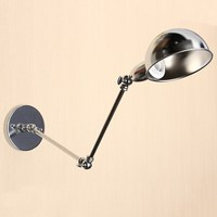 New Lamp Cover E27 Vintage Antique Style Industrial Adjustable Pole Swing Arm Light Sconce Wall Lamp