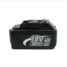 Новый Аккумуляторная Аккумуляторный инструменты батарей BL1830 4000 мАч для Makita BL1840 LXT литий-ионная 4.0Ah мощный инструмент батареи Бесплатная Post