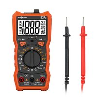 RM113A Digital Multimeter 2000 Counts NCV HFE Voltage Measuring Meter with Magnetic Suction Flash Light Backlight Large Screen