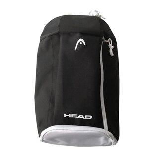 Cabeça saco de tênis raquete mochila saco de treinamento de tênis 1-2 raquetes de tênis independente saco de sapato badminton treino mochila