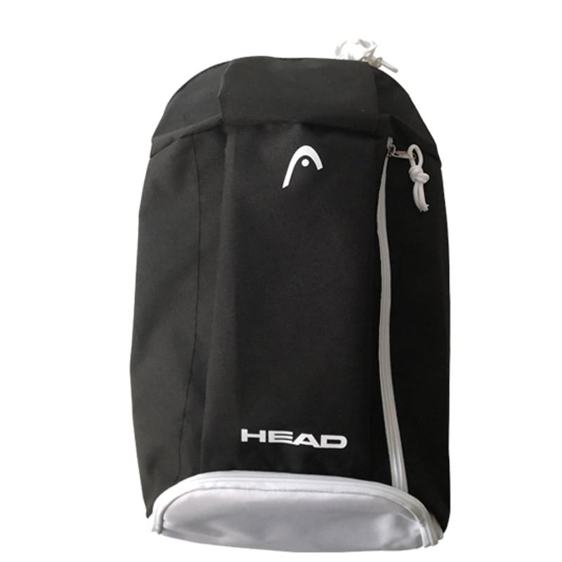 Head Tennis Bag Racket Backpack Tennis Training Bag 1-2 Tennis Racquets  Independent Shoe Bag Badminton Workout Backpack