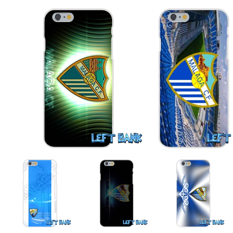 For iPhone 4 4S 5 5S 5C SE 6 6S 7 Plus malaga cf Soft Silicone TPU Transparent Cover Case