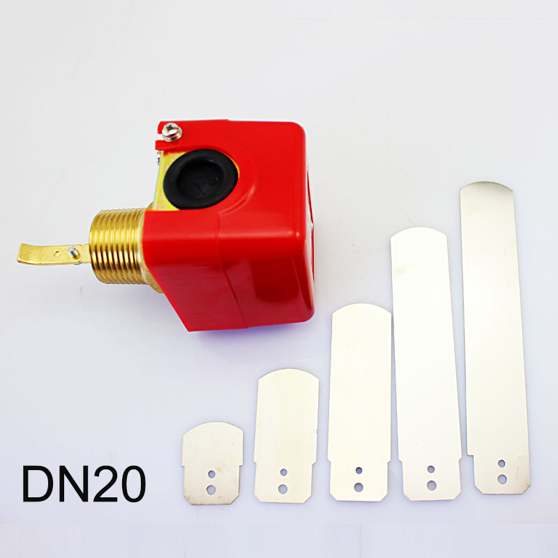 3/4 250V AC 5A Water/Paddle Flow Sensor Switch Male Thread ksol new style 26mm 3 4 pt thread connector 120w pump water flow sensor switch
