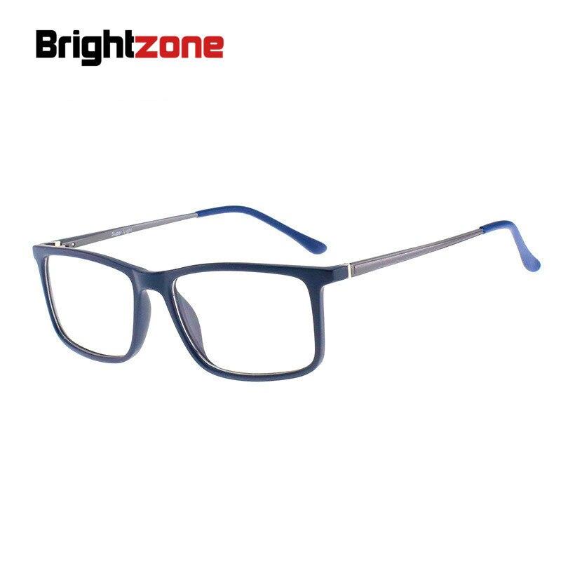 Kind-Hearted Brightzone Tr90 Frame Aluminum Magnesium Legs Rectangle Eye Glasses Frames Men Eyeglasses Gozluk Tmall Erkek Oculos De Grau Bringing More Convenience To The People In Their Daily Life Men's Eyewear Frames