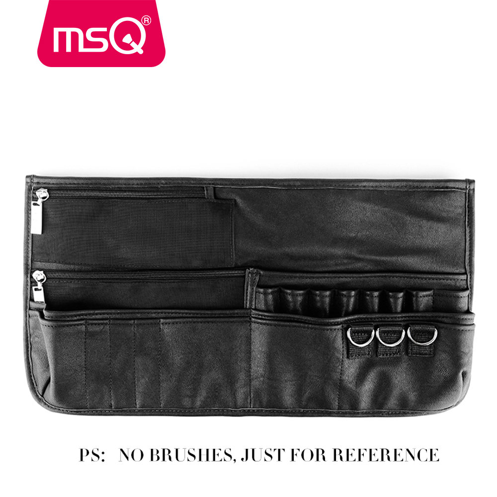 MSQ Professional Empty Makeup Brush Case Super Huge Cosmetic Belt Make-up Storage for Makeup Artist New Product for your beauty msq makeup set for professional makeup artist 7pcs make up necessity with a multi functional cosmetics case
