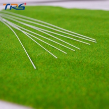 Teraysun 100pcs 0.8*0.8mm Round Rod ABS Plastic round stick JYG-0.8 50cm length