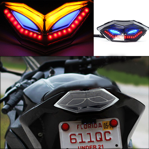 Image 1 - カワサキZ300 Z250忍者250 300 EX300 2013 2017オートバイテールライトテールライトターンシグナルインジケータブレーキライト