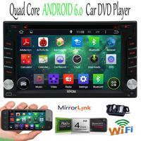 GPS NAVI 7 HD 2Din Andriod6 0 Car In Dash Radio Stereo DVD Player WiFi Camera