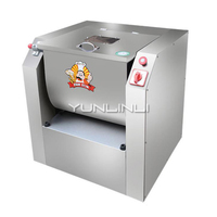 YUNLINLI Commercial Food Processor Automatic Stainless Steel Kneading Dough Machine 25