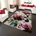 300x400 см большие ковры для гостиной  дома  коврики для спальни  3D цветок  белый скандинавский ковер для детской комнаты  домашний декор karpet