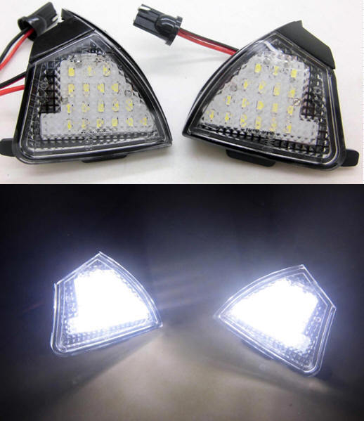 Vw Led Under Side Mirror Light Lamp For Vw Eos 06 Golf 5