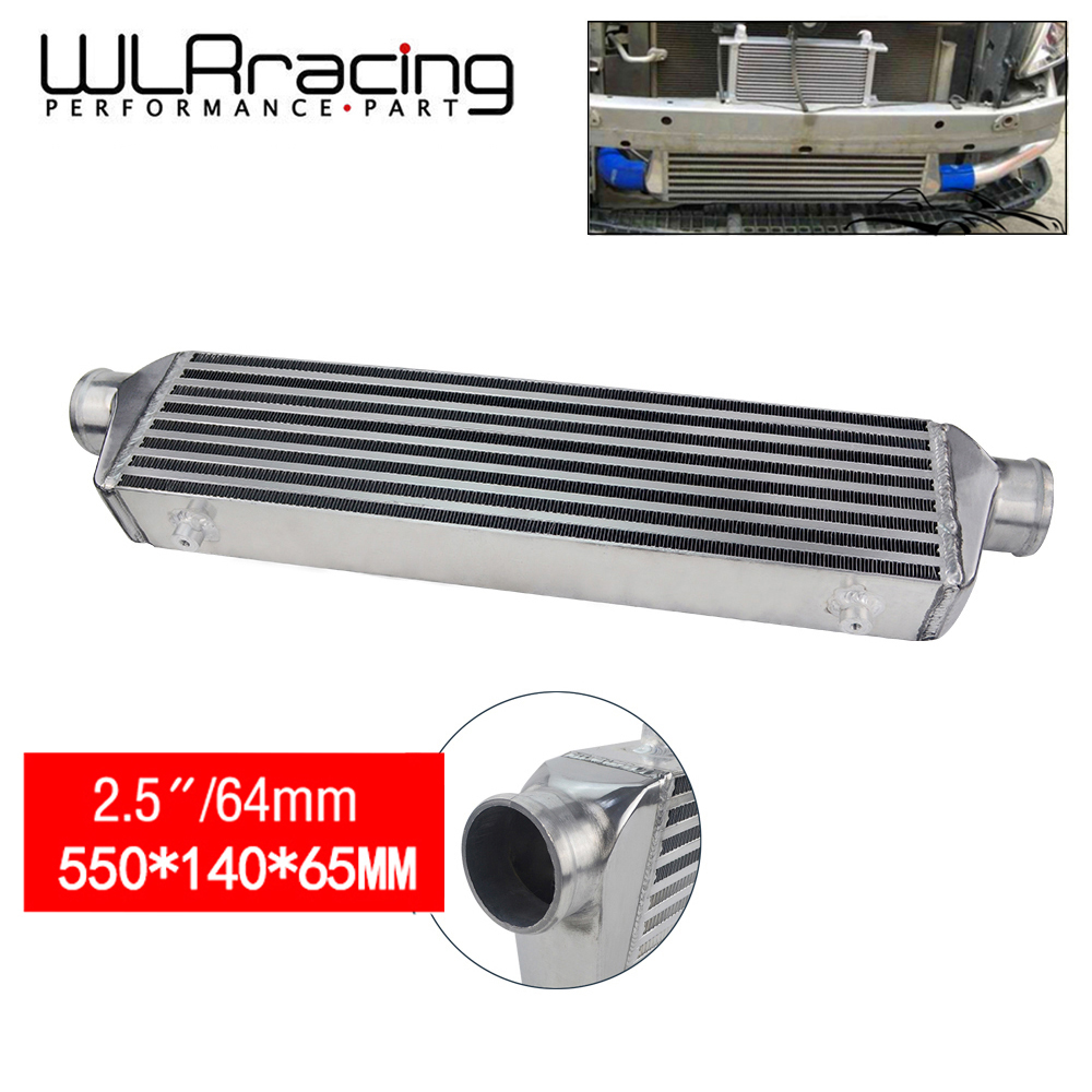 WLR RACING 550 140 65mm Universal Turbo Intercooler bar plate OD 2 5 Front Mount intercooler