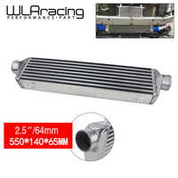 WLR RACING 550*140*65mm Universal Turbo Intercooler bar&plate OD 2.5 Front Mount intercooler WLR IN811 25