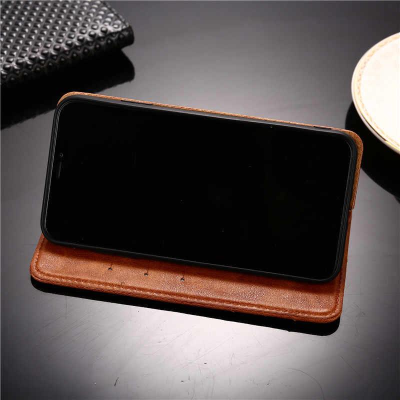 G7 de caso para Motorola Moto G7 cubierta de la caja de parachoques del teléfono de cuero y cubierta de silicona para Moto G7 G 7 caso coque
