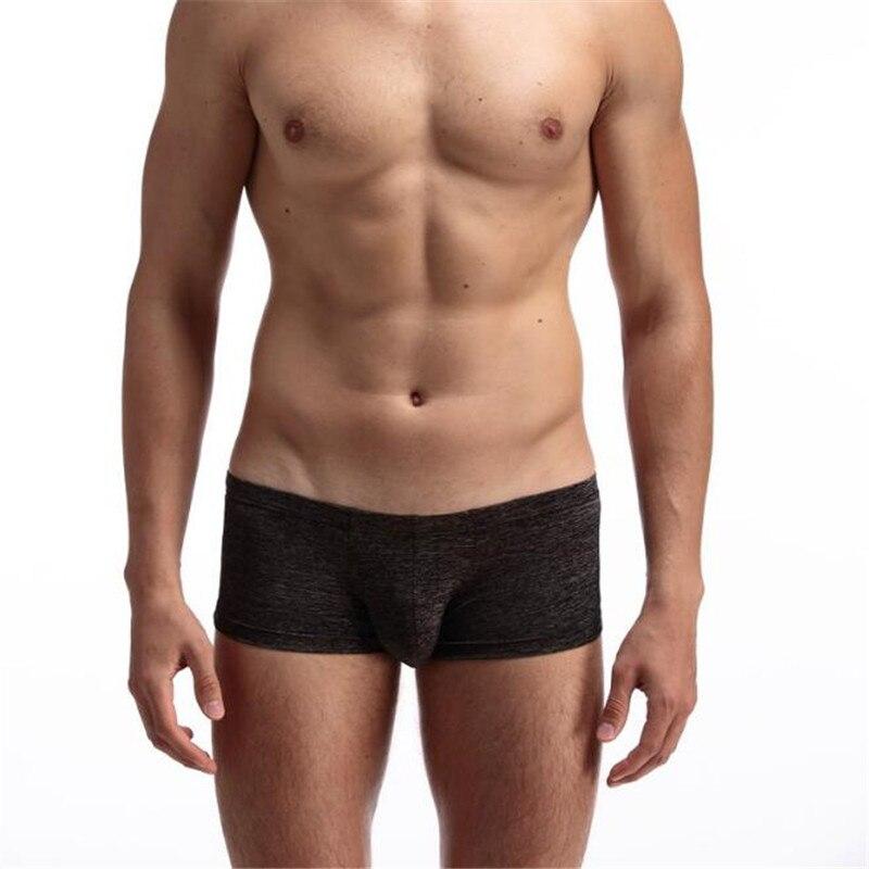 Men's Cotton Underwear,Low Waist Sexy Breathable Comfort Simple Boxers Underwear,Men's Underwear