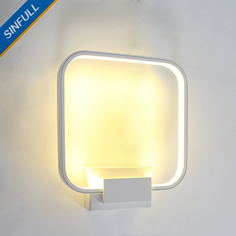 Creative Modern Wall Light Personality Art Led Wall Lamp Aisle Corridor Staircase Living Room Bedroom Bedside Sconce Lighting modern lustre chrome metal led wall lights creative wifi model crystal bedroom led wall lamp corridor led lighting light fixture