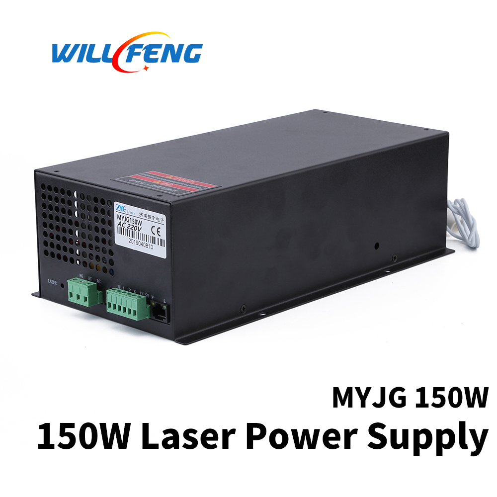 Will Feng MYJG 150w Co2 Laser Power Supply For Co2  Laser Cutter Engraving Machine 150w Laser Box Install On Laser Tube