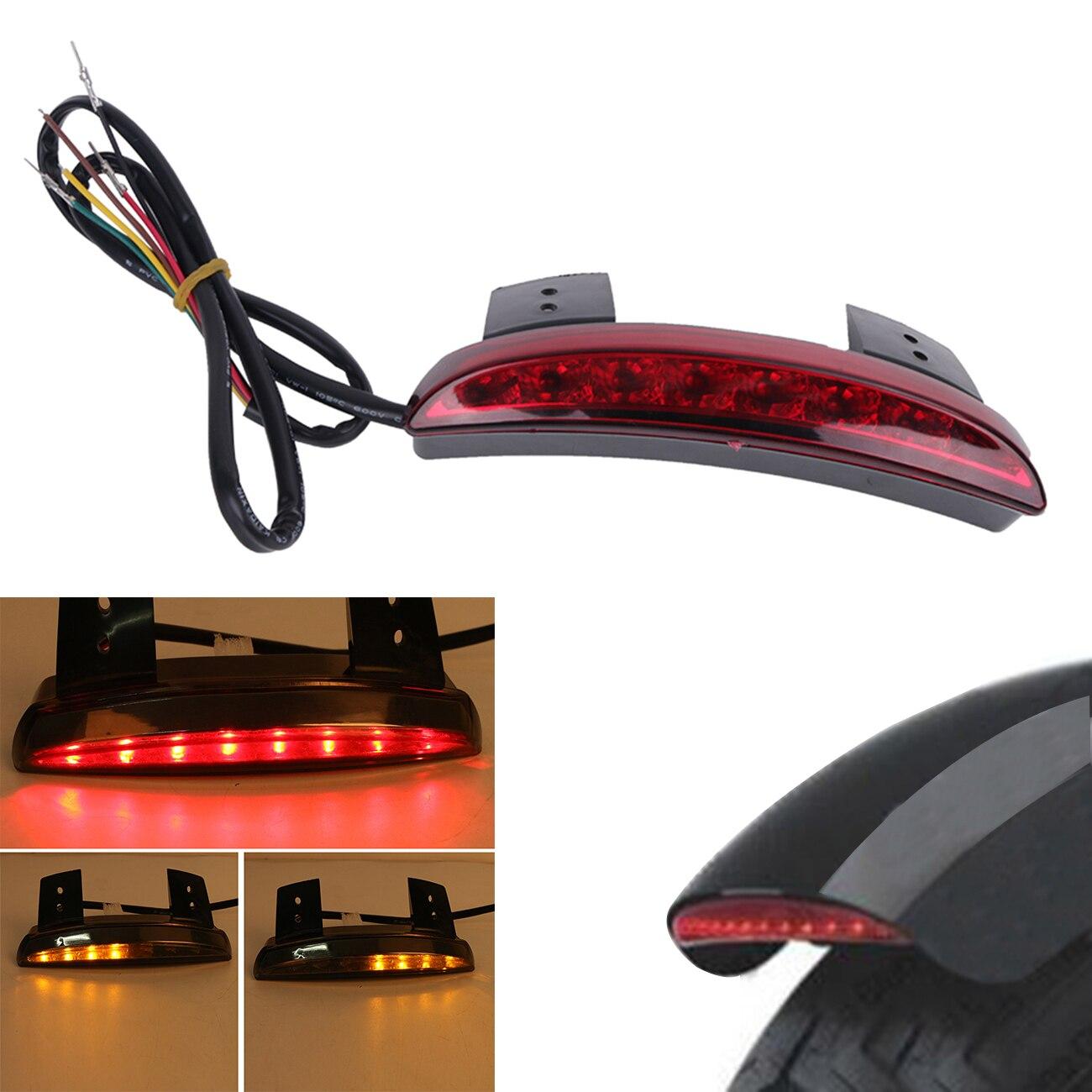 Rear Fender Edge Led Tail Light Lamp For Harley Sportster Xl 883n Iron Xl 1200v 1200c 1200l 1200n 883n Iron Back To Search Resultshome