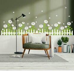 2019 новые цветы наклейки на стену для гостиной спальни комнаты наклейки плакат, Декор для дома обои L529