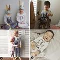 4 COLORS BOBO CHOSES baby boys clothing sets girls clothes kids pajama sets vetement enfant garcon kikikids nununu Children bebe