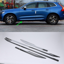 ABS Chrome Car Protector Cover door handle cover smart 4pcs Car Styling Accessories For  VOLVO XC60 2018 window visor vent shades sun rain guard 4pcs for volvo xc60 2009 2015