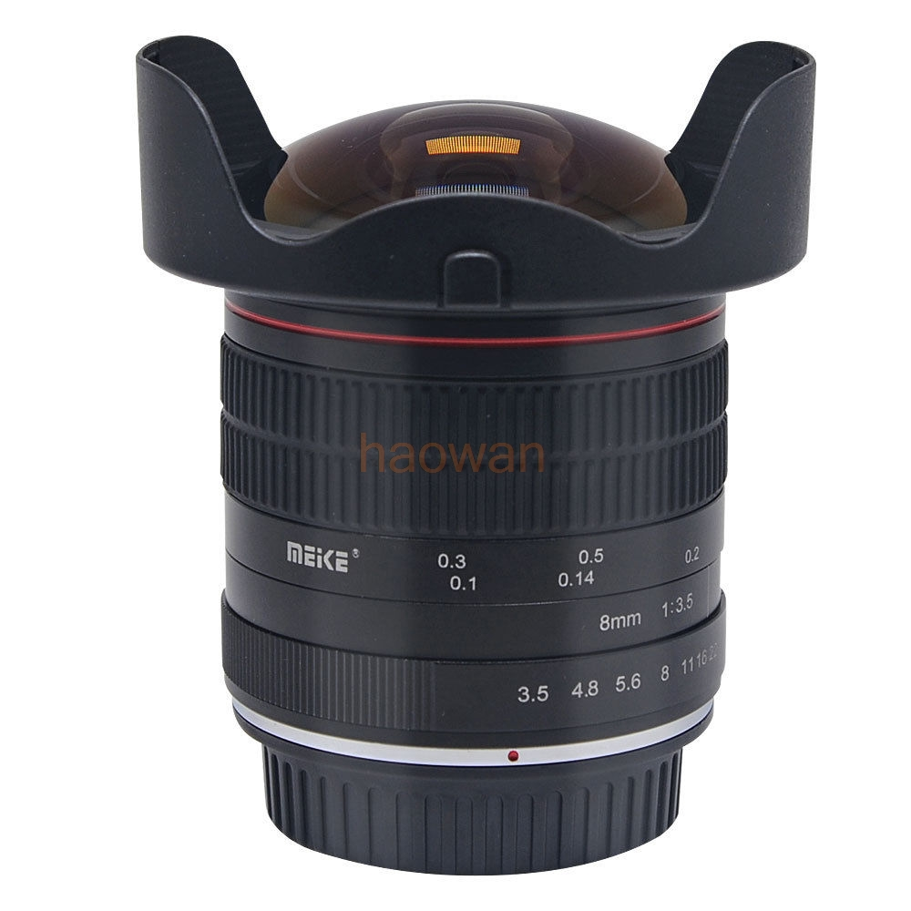 8mm F/3.5 F3.5 Wide angle Fisheye LENS for canon 5d3 6d 7d 60d 80d 650d 750D nikon d750 d90 d7100 d700 d300 d5200 dslr camera free shipping dhl ems s40 new camera monopod tripod shooting stabilizer for canon 5d3 60d 750d for nikon d90 d850 gopro