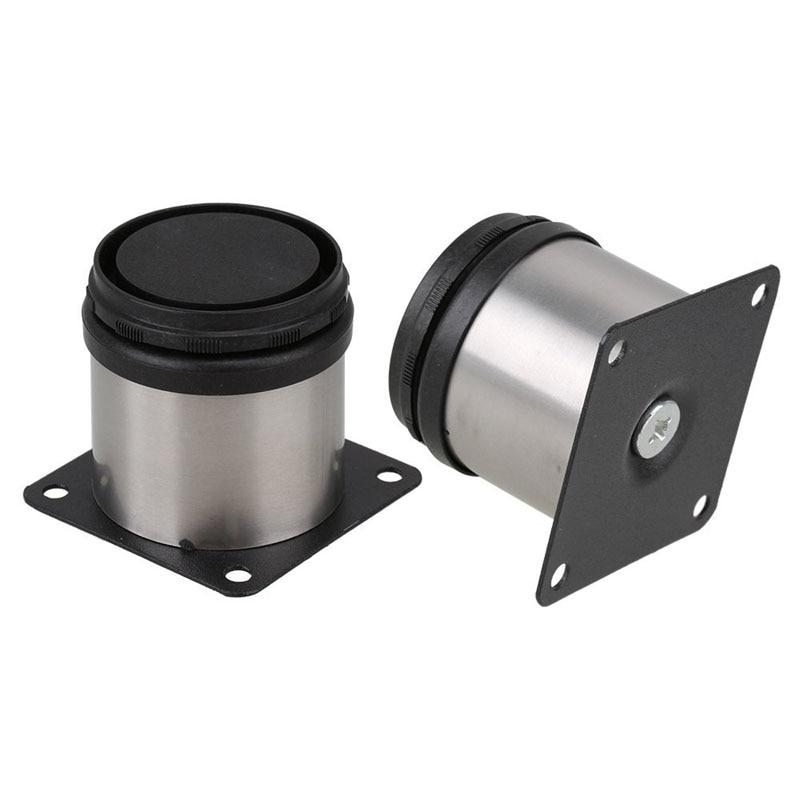 Nueva alta calidad 4 unids 50x50mm soporte ajustable Patas para ...
