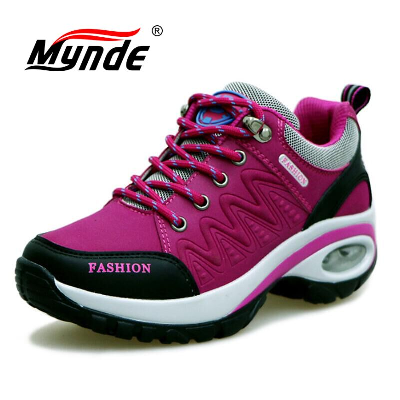 High quality Sneakers women shoes Running shoes woman leather Sport Shoes Air damping Outdoor arena Athletic zapatos mujer