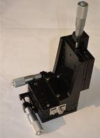 XYZ Axe Vertical Ascenseur Linéaire Plate-Forme Mouvement Étape Manuelle Table Coulissante 80*80mm